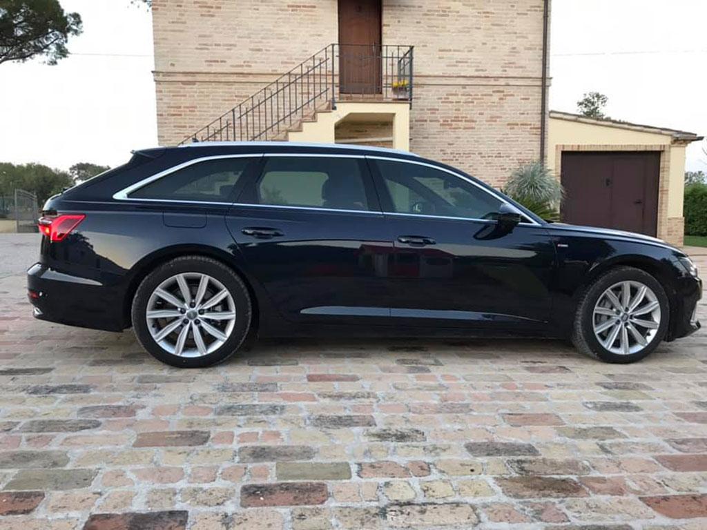 oscuramento vetri Audi A6