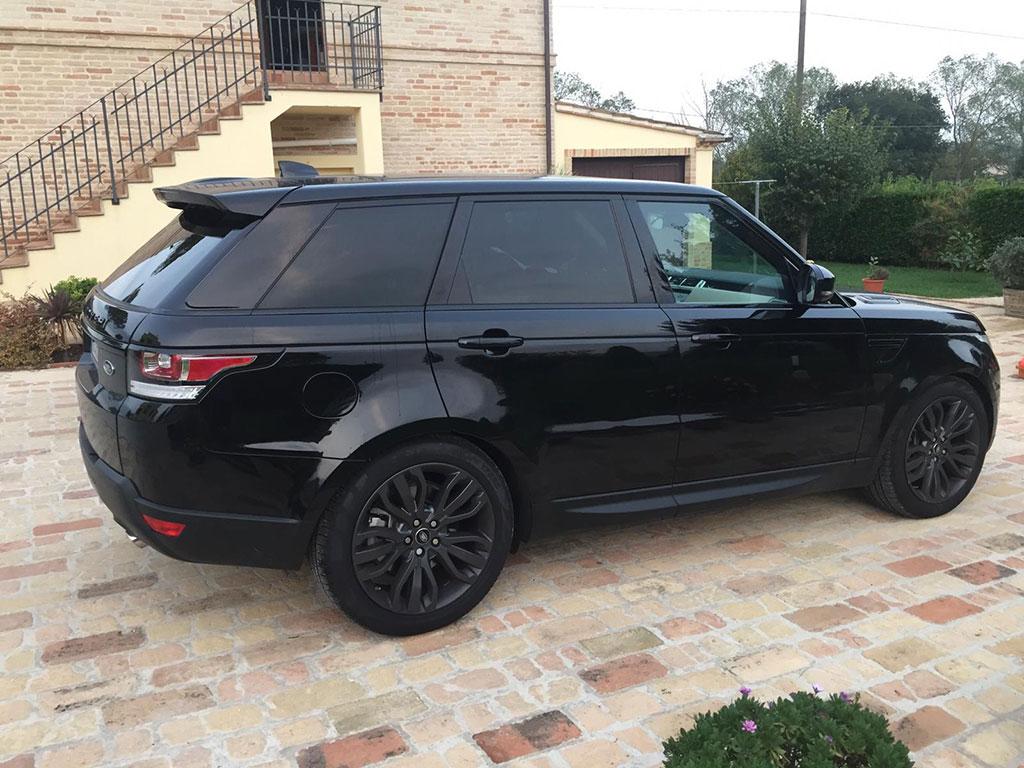 oscuramento vetri Range Rover Sport