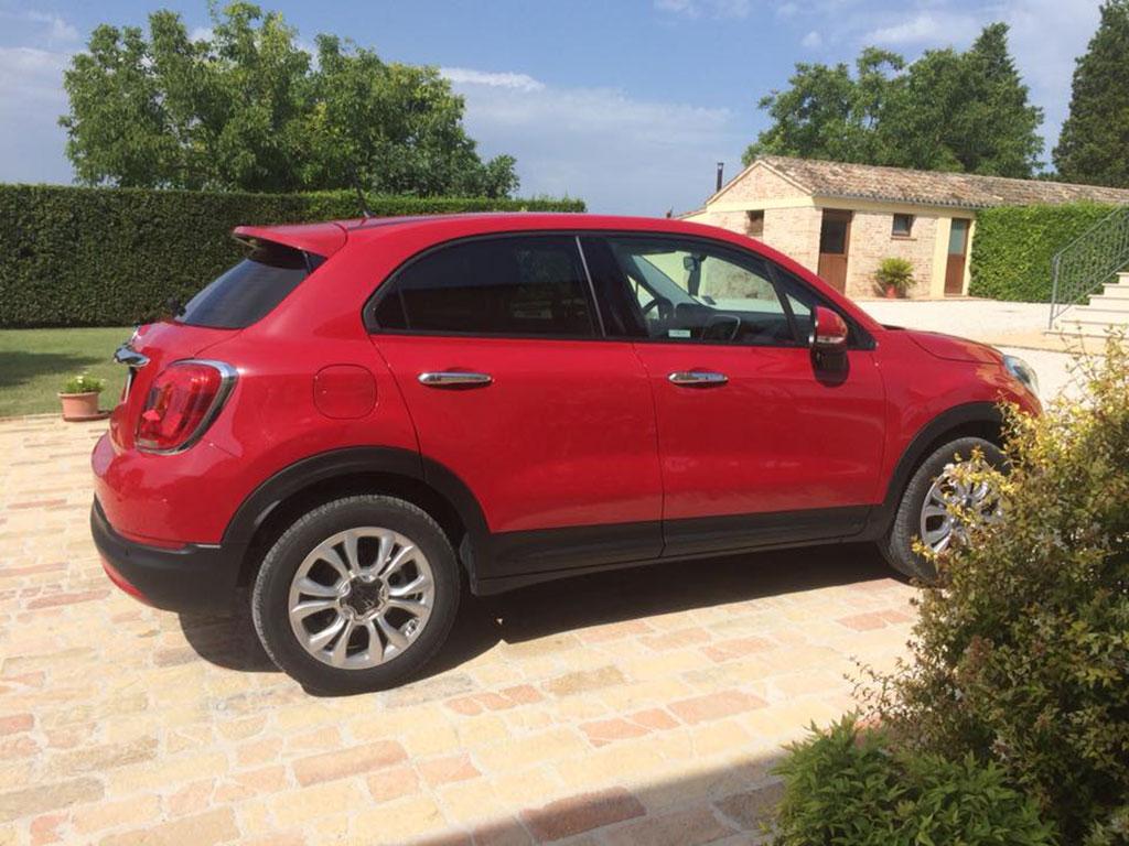 oscuramento vetri Fiat 500X