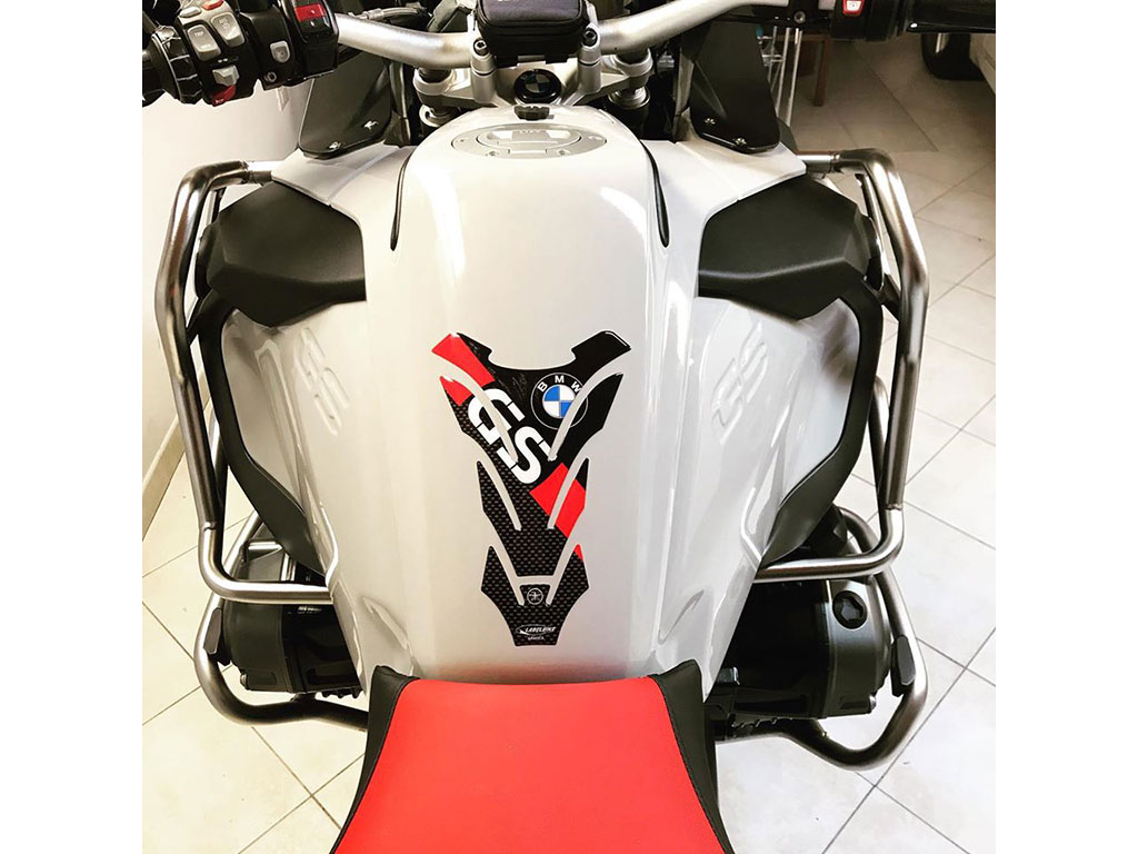 Moto wrapping BMW GS 1200