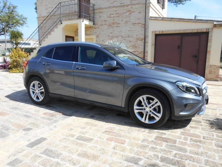 oscuramento vetri Mercedes GLA
