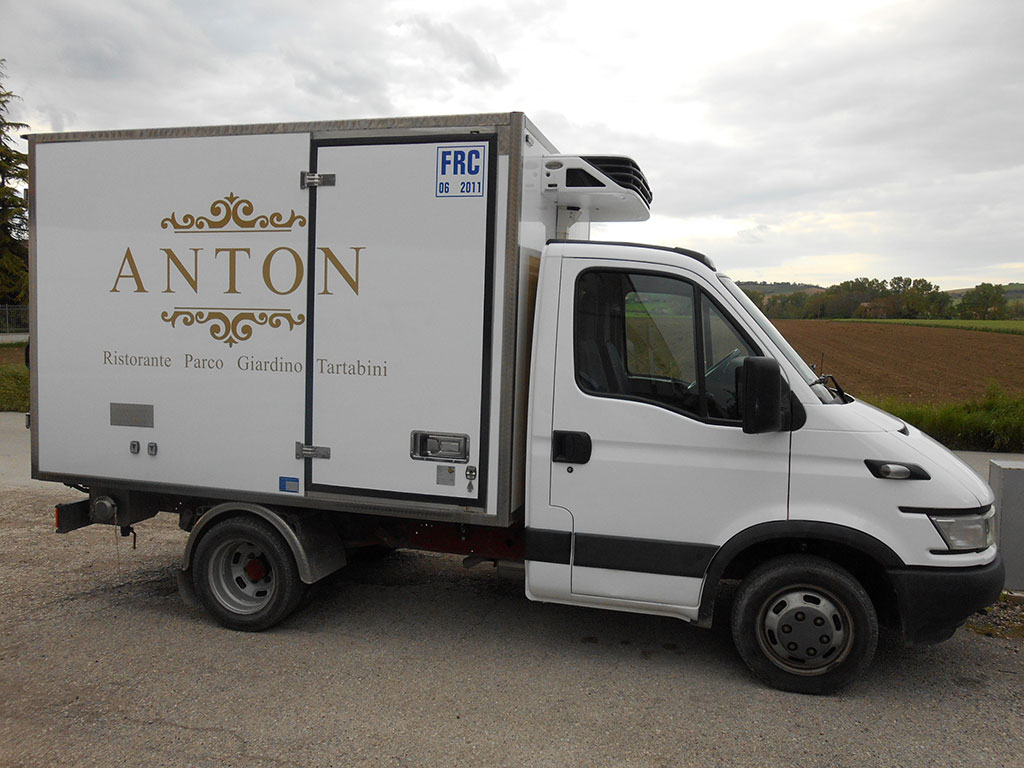 Wrapping furgone Iveco