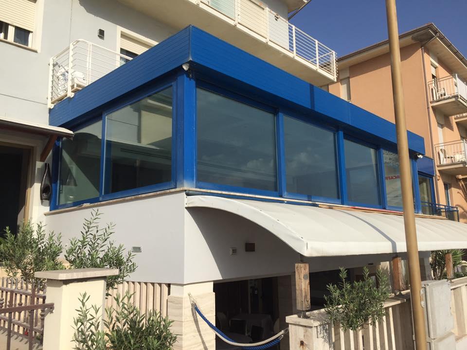 pellicole a controllo solare trasparente Il Gabbiano Civitanova Marche
