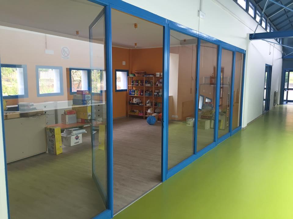 pellicola di sicurezza scuola Infanzia Santa Maria Nuova