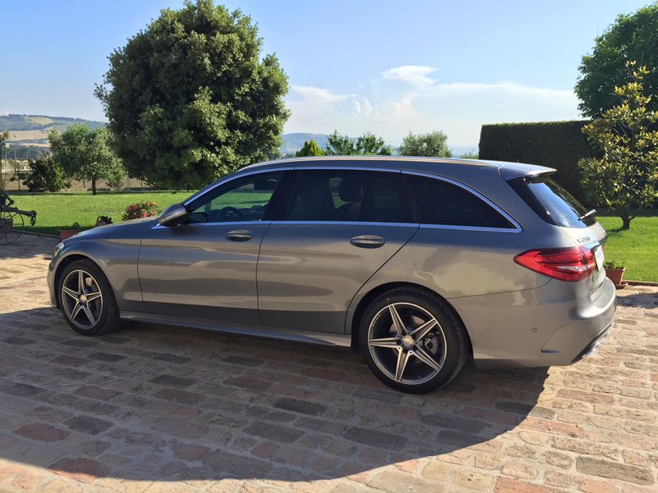 oscuramento vetri Mercedes classe E