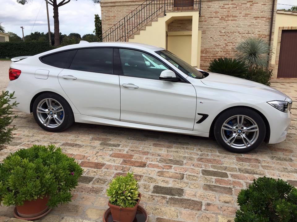 oscuramento vetri BMW Serie 3 GT