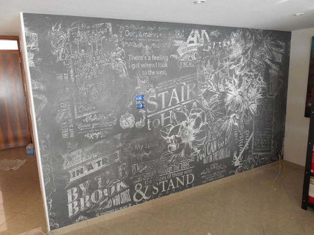 personalizzazione murale abitazione