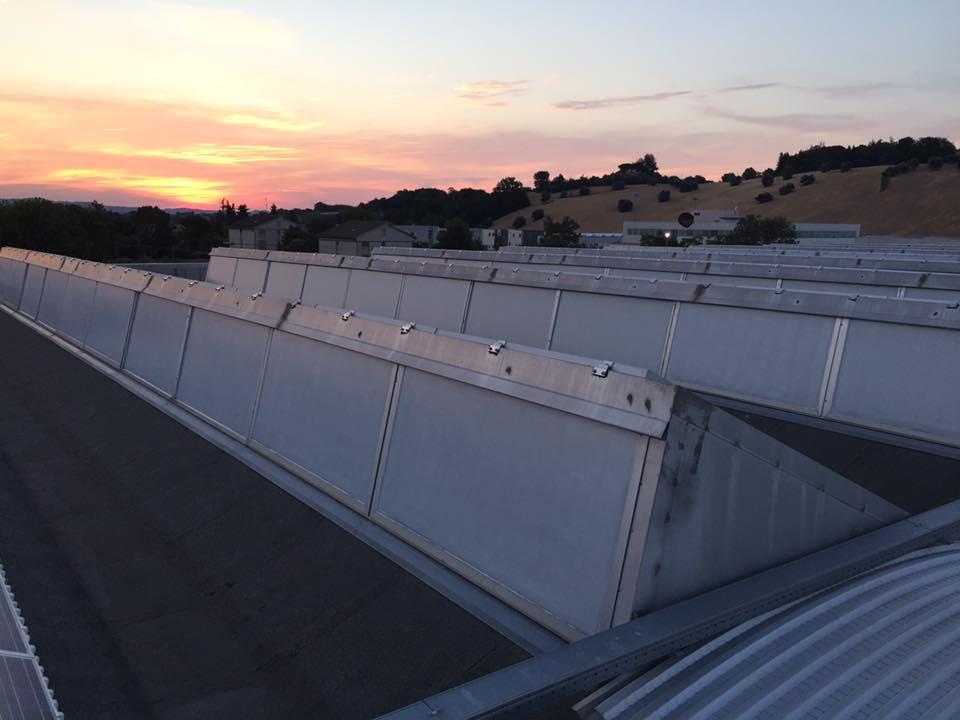 vernice solare ai policarbonati dei tetti Novarese Corridonia